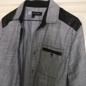 mc squared Shirts - MSquared button down top